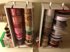 Ribbon holders from Michaels with coupon only $12!