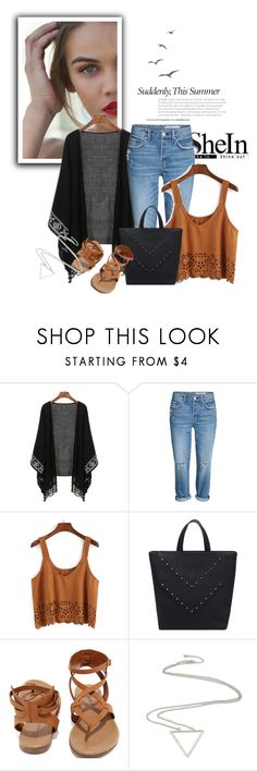 """SheIn 10/I"" by amina-haskic ❤ liked on Polyvore featuring Breckelle's and Sheinside"