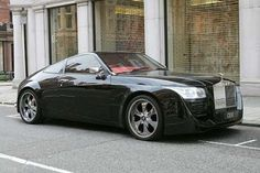 Pimped Rolls Royce Coupe... Lol!