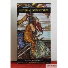 Two of Swords - Universal Fantasy Tarot by Paolo Martinello Two Of Swords, Le Tarot, Tarot Prediction, Tarot Major Arcana, Hero's Journey, Cartomancy, Tarot Card Decks, Mystique, Oracle Cards