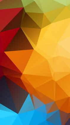 Polygon Balls #iPhone #5s #Wallpaper