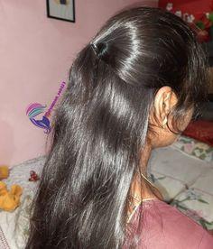 Ponytail Hairstyles, Girl Hairstyles, Long Black Hair, Pony Hair, Curvy Women Fashion, Beautiful Indian Actress, Indian Actresses, Beauty Women, Braids