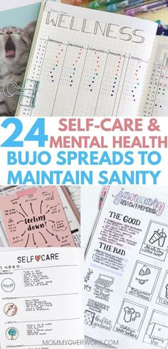 Give yourself what you deserve with these SELF CARE BULLET JOURNAL MENTAL HEALTH ideas and spreads. Squeeze me time into your busy schedule with a diy spa day, beauty / skincare routine, or a chart of great ideas to turn to when you need it. Turn it into Journal Layout, Journal Prompts, Journal Pages, Journal Ideas, Journal Fonts, Journal Challenge, Art Journaling, Bullet Journal Mental Health, Self Care Bullet Journal