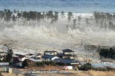 The ferocious tsunami was spawned by one of the largest earthquakes in Japan's history. The waves begin to encroach on Japan's coastline. Above, tsunami waves overtake homes in Natori, Japan with force. Tsunami No Japão, Tsunami 2011, Tsunami Waves, Tsunami Warning, Miyagi, Japan Earthquake, Earthquake And Tsunami, Earthquake Disaster, Jet Lag