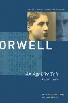 orwell essays letters