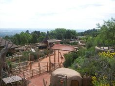 Colorado Springs Zoo. Built going up the side of Cheyenne Mountain.