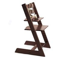 stokke tripp trapp high chair in espresso  http://madmotherdesign.blogspot.com/2013/01/toes-on-table-everyone-says-you-pay-now.html  #baby #kids #furniture