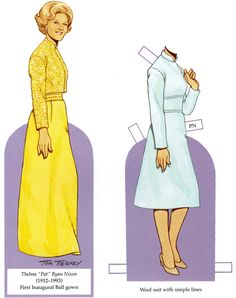 Welcome to Dover Publications Fashions of the First Ladies Paper Dolls