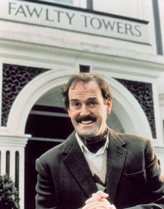 John Cleese. Fawlty Towers. 12 episodes of fun.