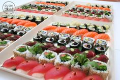 Sushi Platter Deliveries from Sushi Rolls