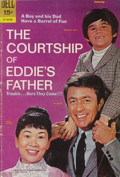 The Courtship of Eddie's Father  They made books of everything back then.