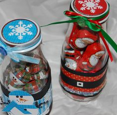 cricut favor ideas | Light Whimsy: Give a gift - altered frappuccino bottles