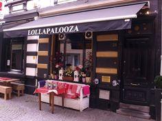 Lollapalooza: beperkte kaart, maar voor ieder wat wils, leuk overdekt koertje aan de overkant van het restaurant en heerlijk eten