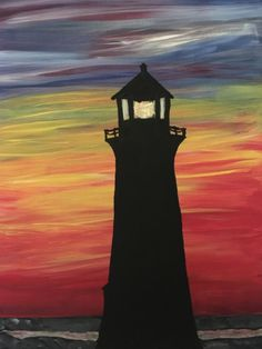 25 Simple And Easy Lighthouse Painting Ideas For Beginners easypaintings Simple-And-Easy-Lighthouse-Painting-Ideas # Easy Canvas Painting, Simple Acrylic Paintings, Easy Paintings, Diy Painting, Painting & Drawing, Watercolor Paintings, Canvas Art, Decorative Paintings, Beach Canvas