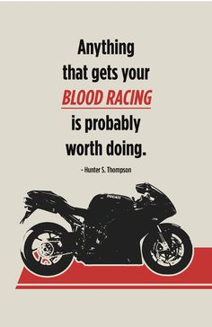 Ducati Superbike Poster  Blood Racing 1 by InkedIron on Etsy, $12.50