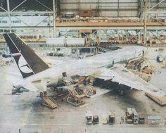 B767 Lot Polish Airlines  Boeing Everett Factory 1989..