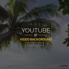 How to Build a YouTube Video Website Background, #Code, #CSS, #CSS3, #HTML, #HTML5, #Javascript, #jQuery, #Responsive, #Transition, #Tutorial, #Video, #Web #Design, #Development, #YouTube