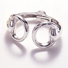 One of our most favorite pieces of jewelry. Sterling silver horse bit cuff bracelet. Yes. Swoon.