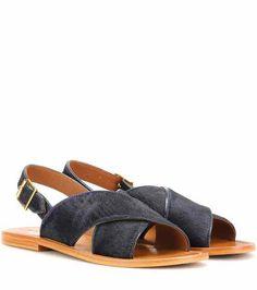 Calf hair sandals   Marni