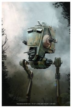 AT-ST (Star Wars fan art)
