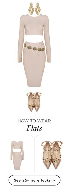 """""""Untitled #2085"""" by jeanne-lemaire-romero on Polyvore featuring Chanel, Badgley Mischka and Valentino"""