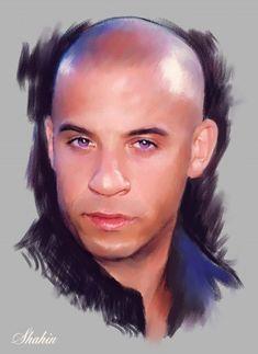 Vin Diesel by shahin