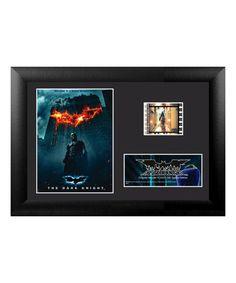 Look at this #zulilyfind! The Dark Knight A World Without Rules FilmCells™ Framed Wall Art #zulilyfinds