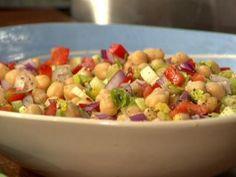 Salada de Grão de Bico - Food Network