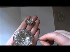 How to create a Faux Druzy Stone using products from ICE Resin.