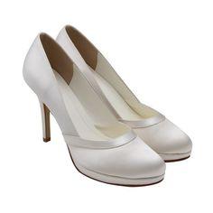 Rainbow Else Merlot - Wedding Shoes - Crystal Bridal Accessories