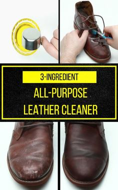 Make leather look like new with this easy DIY cleaner and conditioner!