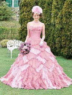 Wedding Dress Fantasy - Pink Bridal Gown  - Available in Every Color 1, $925.00 (http://www.weddingdressfantasy.com/pink-bridal-gown-available-in-every-color-1/)