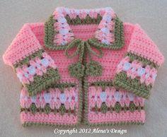 Blossom Baby Jacket | Craftsy