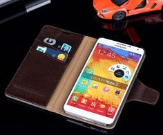 Find More Phone Bags & Cases Information about Soft Touch Wallet Genuine Leather Flip Case for Samsung Galaxy Note 3 III N9000 Stylish Business Style Brand Back Cover DLS31,High Quality case htc touch hd,China case for htc incredible s Suppliers, Cheap case run from Just Only on Aliexpress.com