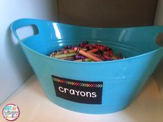 Black supply labels with a pop of bright color. Tons of labels included and they are editable!