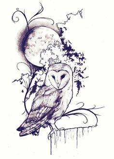 Owl Tattoo Design, Tattoo Designs, Body Art Tattoos, New Tattoos, Sleeve Tattoos, Circle Tattoos, Tatoos, Fish Tattoos, Ink Pen Drawings