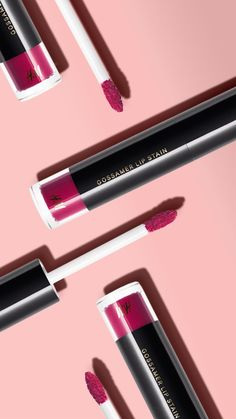Beauty Product Review - Makeup - The new H&M Gossamer Lip Stain. This SUPER affordable lip product can actually stay put through a few slices of pizza and a couple of drinks! Read our full review... | StyleCaster.com