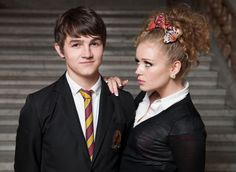 Love these two in Waterloo Road and find it so cute their a couple on & off set ❤️