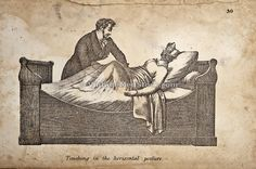 Vintage medical illustration -- Perhaps he is curing her hysteria?