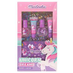 Martinelia Unicorn Dreams Σετ Lip Balm 2x 6.2ml Nail Polish 2 x 6ml Tin Case Bff, Iron Oxide, Lip Balm, Nail Polish, Lips, Dreams, Beauty, Design, Products