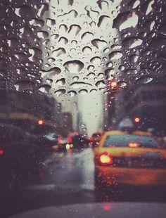 NYC photography, new york photography, rain street photography, new york cab, manhattan photography New York Photography, Rain Photography, Street Photography, Color Photography, Rainy Night, Rainy Days, City Rain, Ville New York, I Love Rain