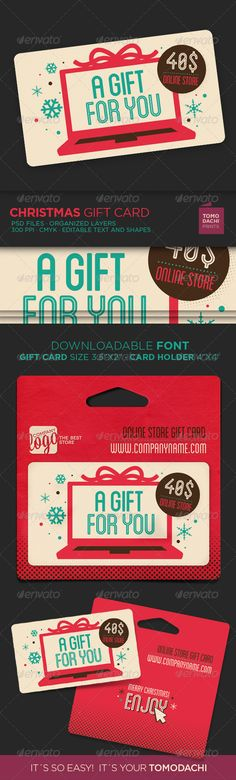 Fresh Set of Gift Cards and Vouchers Fonts, Loyalty and Avant grade - payment voucher template