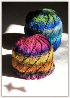 free pattern, noro spiral hat