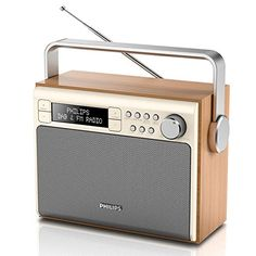 Inspirational Philips AE Portable DAB Radio with FM Digital Tuner Battery and AC Powered