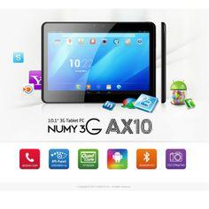 Ainol Numy 3G AX10 Tablet PC  http://www.spemall.com/Ainol-Numy-3G-AX10-Tablet-PC-with-Bluetooth-HDMI-GPS-Dual-Camera-10-1-Inch-1024-800-IPS-Screen-Androit-4-2-MT-8389-Quad-Core-1GB-16GB_g.html