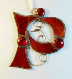 Letter P Initial capital by jacquiesummer on Etsy, $12.00
