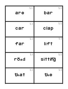 Reading Mastery Flashcards Set Lesson by The Little Classroom Around the Corner Reading Mastery, 2nd Grade Ela, Dolch Sight Words, Teaching Time, Home Schooling, Literacy Centers, Teacher Stuff, Early Childhood, Kindergarten