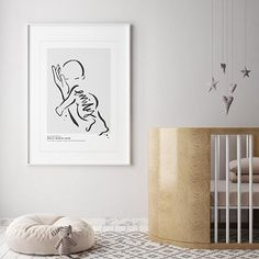 Custom baby name print