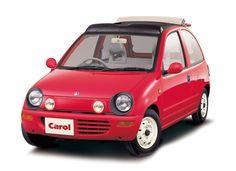 1989年 2代目キャロル / 2nd Carol キャロルという車名が日本で復活したのは1962 年以来のことで、軽自動車のフォーマットの上にオリジナルのキャロルと同じように親しみが沸く愛らしいデザインが与えられ、更にターボ、キャンバストップなど多様なバリエーションを備えており幅広い層から好評を得た。