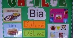 I teach one of the ten Gaeilge themes for 3 weeks at a time. I feel the class really learn this way. I display my Gaeilge theme for 3 week. 3 Weeks, Irish, Display, Teaching, Feelings, Irish People, Billboard, Learning, Education